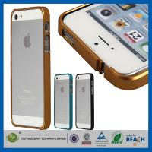 Waterproof Thin Mobile Phone Covers Aluminum Metal Bumper Apple Personalised