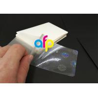 Buy 125 Mic / 175 Mic Pouch Laminating Film EVA Adhesion Eco Friendly Material at wholesale prices