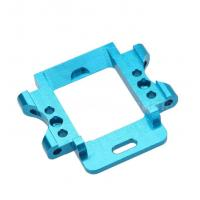 anodize blue color cnc milling aluminum 6061 metal parts rapid prototype