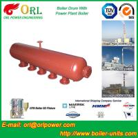 Quality High Temperature Steam Drum In Boiler , Blowdown Drum Low Pressure for sale