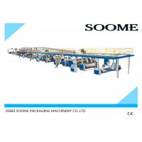 Quality Fully Automatic 3 Ply Corrugated Box Making Machine Electric Control System for sale