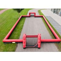 Quality Outdoor Interactive Inflatable Sports Toys 0.55mm PVC Football Arena Playground for sale