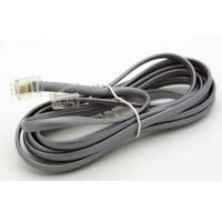 Quality 25FT 4P4C Flat Telephone Cable for sale