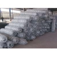 Quality Professional Galvanized Gabion Wire Mesh Safety for Poultry , 0.5-2.5m Width for sale