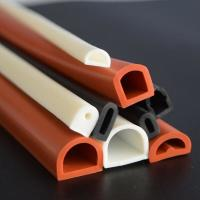 Quality Good elastic silicone rubber tube/flame retardant rubber pipe/masking rubber tube for sale