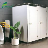 China Hot sale custom hpl toilet partition with 304SS hardware on sale