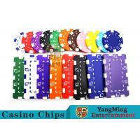 11.5g - 32g Clay Poker Chips With Sticker With Unique Dice Fancy Mold Design