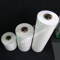 Quality white film,500mm*25mic*1800m, Stretch Film and LLDPE Wrap Silage Film, agriculture packing film for sale