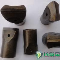 Quality Tungsten Carbide Chisel Rock Bit 34 mm Green / Black For Mining for sale