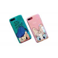 Quality Bling Surface Donald Duck IMD Print TPU Apple Cell Phone Cases Lip Around The Edge for sale