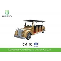 Quality Battery Powerd Mini Bus Electric Vintage Cars With 72V AC System , Left Steering for sale