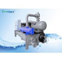 R407C Water Cooled Chiller With Heat Recovery , Double Refrigeration Circuits