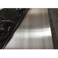 Quality Hairline Finish Stainless Steel Sheet 304 Thickness 0.3MM - 3.0MM Multiple Color for sale