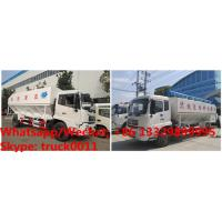 Quality High quality and best price dongfeng 4*2 RHD 190hp 8tons-12tons hydraulic livestock poultry feed delivery truck for sale for sale