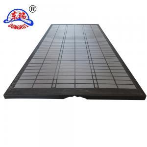 China DURAFLO Composite OEM Screens for MONGOOSE PRO, MONGOOSE PT & MEERKAT Shakers Screens 585*1165*39mm API80 Standard on sale