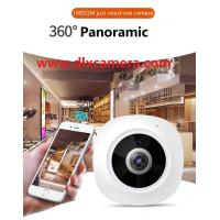 Quality Wholesale Smart home baby monitor 3Mp 360° plug and play Max.128G SD 3D Panoramic VR P2P Wireless and wired both support for sale