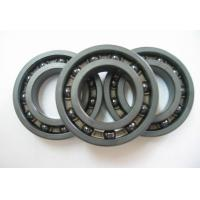 Quality Hybrid Ceramic Open Deep Groove Ball Bearings High Speed P0 / P6 / P5 for sale