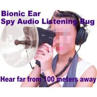 Quality Bionic Ear Remote Sound Recorder 100 meters headphone Spy Audio Listening Amplifier Bug for sale