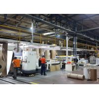 Quality Automatic 2 Ply Corrugated Cardboard Machine Production Line 1 Year Warranty for sale