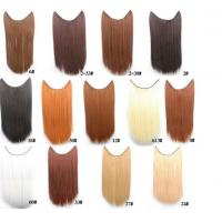 """Quality Tangle Free Natural Synthetic Colored Hair Extensions Clip In with 16"""" for sale"""