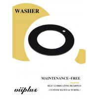 Quality Customized Oilless Resin Sliding Materials Washer & Flat PTFE Gasket for sale