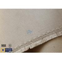 """Quality High Silica Fabric 800℃ 1200G 36"""" Wide Brown Chemical Resistant for sale"""