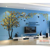 Custom loving heart tree shaped home decorative acrylic for A t design decoration co ltd