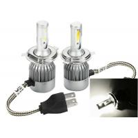 Quality Pure White 6000K C6 Bright LED Headlight Bulbs Conversion Kit H4 36W 3800LM for sale