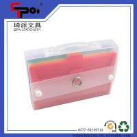 Quality Office Supplier Expanding File Folder Carrying Case PP Colorful Expanding Wallets for sale
