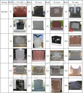 China granite tombstone on sale
