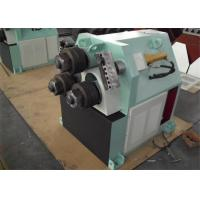Quality 3 Roller Hydraulic Profile Bending Machine For Tube / Pipe Arc Down Adjusting for sale