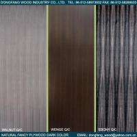 Quality Natural Fancy Plywood Dark Color for sale