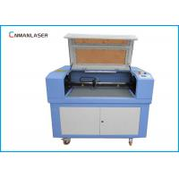 Quality 60w 80w Wood Leather Mini Laser Cutting Machine With Rotary Devices for sale