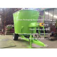 Buy cheap Efficient Green Animal TMR Feed Mixer , small tmr mixer With Weighting System from wholesalers