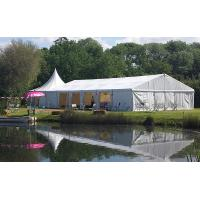 Quality 20m * 30m White Marquee European Style Custom Event Tents For Outdoor Party for sale