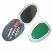 Quality Pedicure Beauty Set with Plastic Pouch for sale