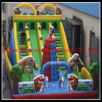 Quality Latest & Durable Customzied PVC inflatable bouncer slide for sale