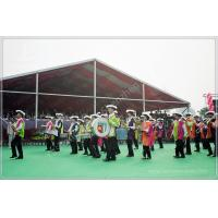 Quality 850gsm PVC Fabric Outdoor Event Tent 20M Wide With Red Roof Lining Decoration for sale