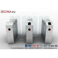 China Fastlane Turnstile Remote Control Access Control Turnstiles Tempered Glass Sliding on sale