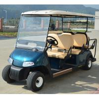 Buy 48V Maintenance-Free Battery Operate Electric Small Golf Carts With 6 Sofa Seats at wholesale prices