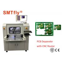 Quality Stand Alone CNC PCB Depaneling Router Machine With 80mm/S , 0.1mm Cutting Precision for sale