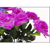 Buy OEM Beautiful Cheered Rose Plastic Artificial Plants Fish Tank Landscaping Decoration Acessories at wholesale prices