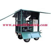 Quality MTP Mobile Trailer Type High Vacuum Transformer Oil Purification Systems for sale
