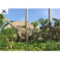 Quality Realistic Full Size Dinosaur Lawn Statue Artificial Moving Dinosaur Statues On Lawn for sale