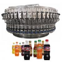 Quality Soft Carbonated Drink Filling Machine / Production Line , Pepsi Bottle Machine for sale