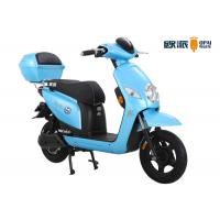 Quality Blue Girls Electric Scooter , Powerful Girls Electric Motorbike for sale