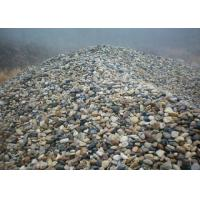 Quality Natural River Unpolished Decorative Landscaping Stone Ornamental Garden Pebbles for sale