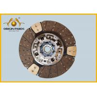 Quality CYH 6WF1  ISUZU Clutch Disc Metal Material 430 MM 1312408650 High Precision for sale