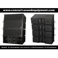 Quality Dual 12 Inch 1560W Line Array Speaker With Neodymium Drivers For Concert , Living Event for sale