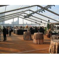 Buy 500 People Big Waterproof Transparent Polygon Event Tent With Clear Span Structure at wholesale prices